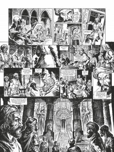 Page 9 Conan le cimmérien - La maison aux trois bandits (édition noir & blanc)