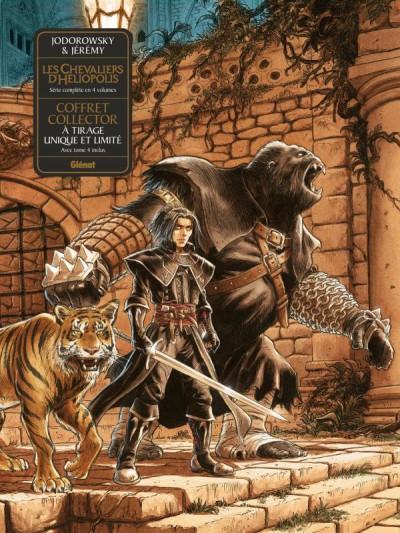 Couverture Les chevaliers d'Heliopolis tome 4 - coffret + cale