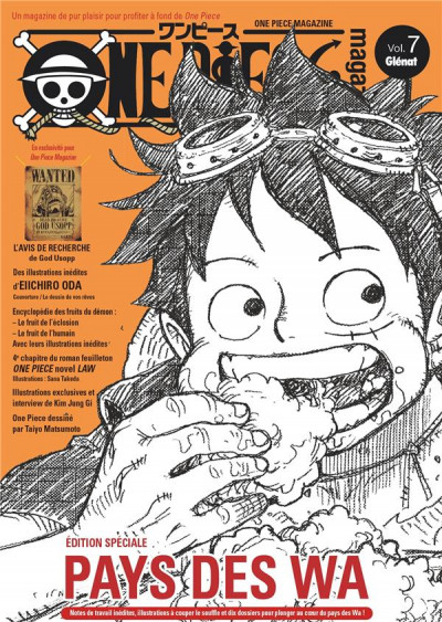 Couverture One piece magazine tome 7