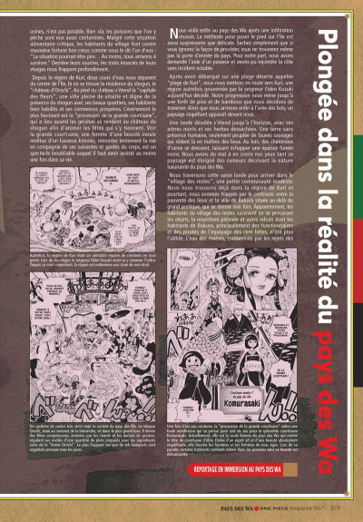 Page 0 One piece magazine tome 7