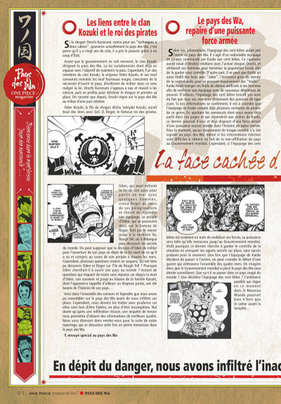 Page 9 One piece magazine tome 7