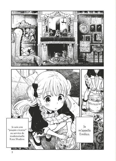 Page 6 Shadows house tome 1