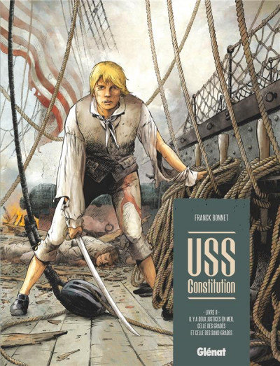 Couverture USS constitution tome 2