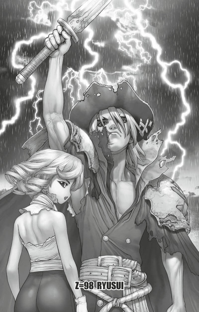 Page 6 Dr. Stone tome 12