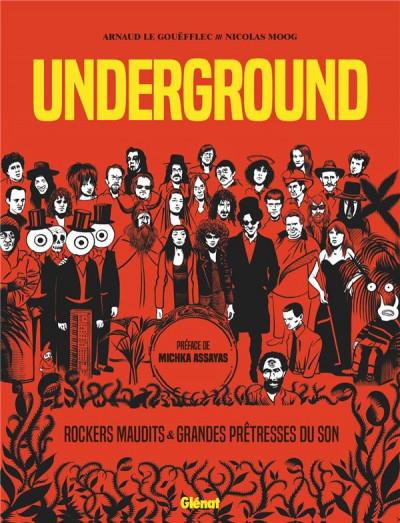 Couverture Underground - Grandes prêtresses du son et rockers maudits