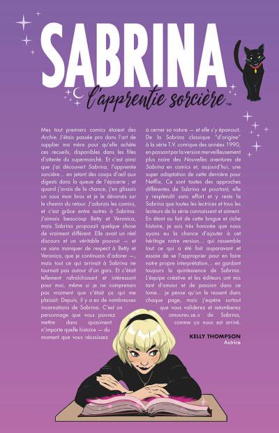 Page 4 Sabrina l'apprentie sorcière tome 1