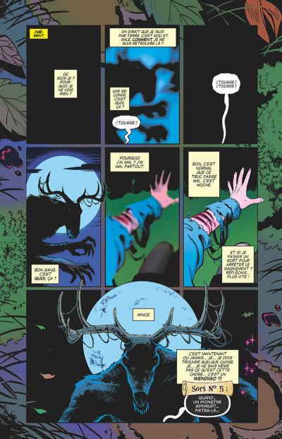 Page 8 Sabrina l'apprentie sorcière tome 1