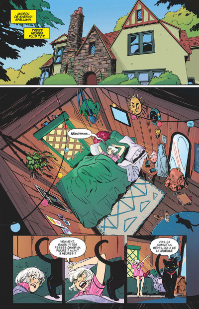 Page 9 Sabrina l'apprentie sorcière tome 1