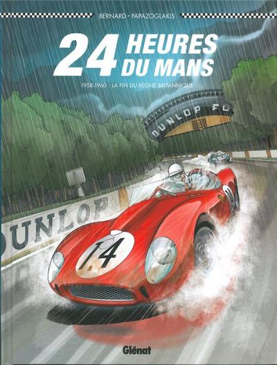 Couverture 24 heures du Mans - 1958-1960 - Les années rouges