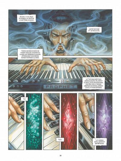 Page 0 Le troisième oeil tome 1