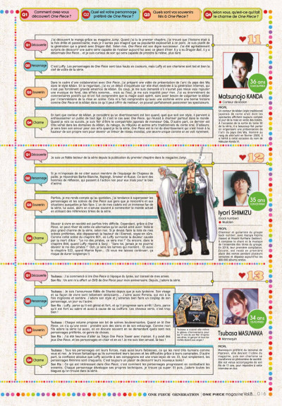 Page 0 One piece - magazine tome 8
