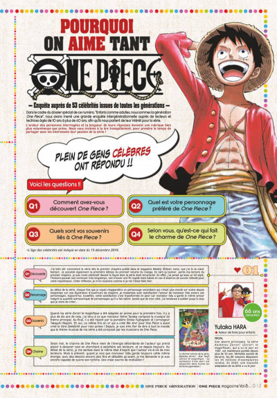 Page 6 One piece - magazine tome 8