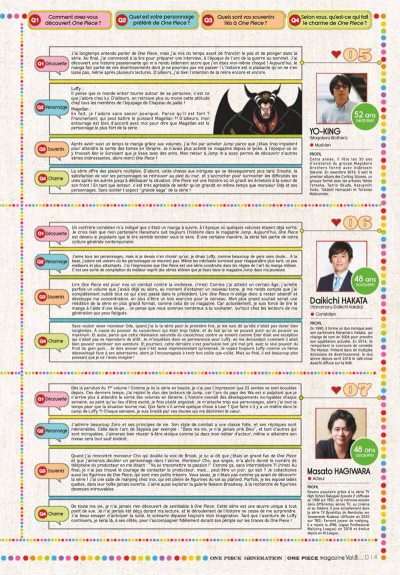 Page 8 One piece - magazine tome 8