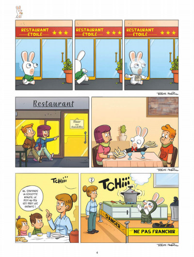 Page 4 The lapins crétins tome 13