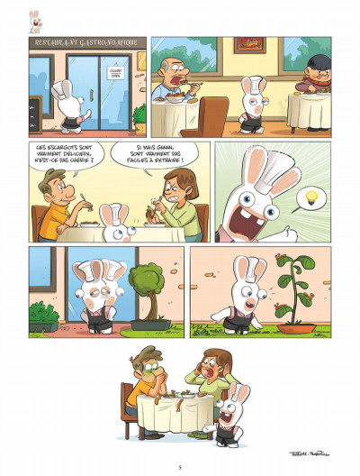 Page 5 The lapins crétins tome 13