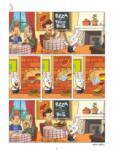 Page 8 The lapins crétins tome 13