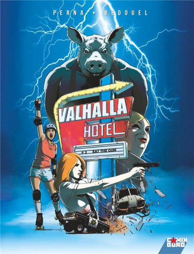 Couverture Valhalla hotel tome 2