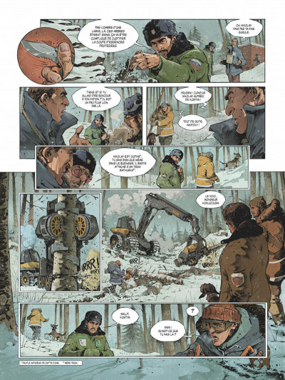 Page 5 Féroce tome 1