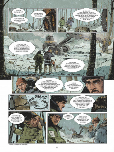 Page 6 Féroce tome 1