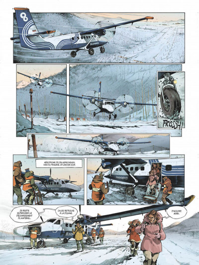 Page 7 Féroce tome 1