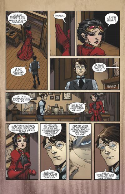 Page 0 Lady Mechanika tome 7