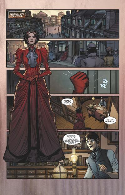 Page 8 Lady Mechanika tome 7