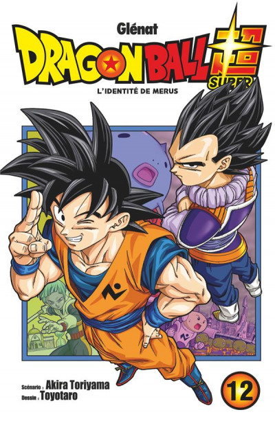 Couverture Dragon ball super tome 12