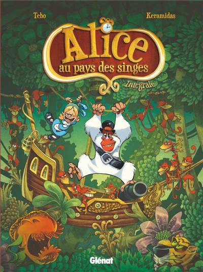 Couverture Alice au pays des singes - intégrale