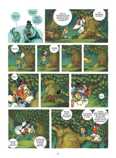 Page 0 Alice au pays des singes - intégrale