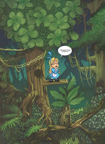 Page 3 Alice au pays des singes - intégrale