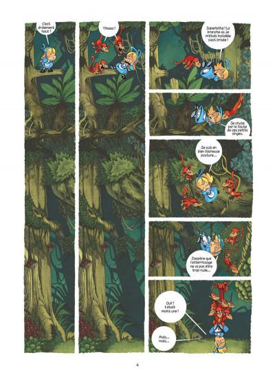 Page 4 Alice au pays des singes - intégrale