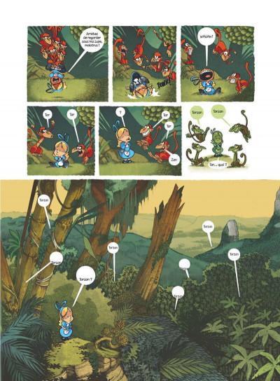 Page 5 Alice au pays des singes - intégrale
