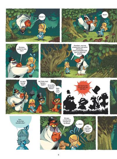 Page 6 Alice au pays des singes - intégrale