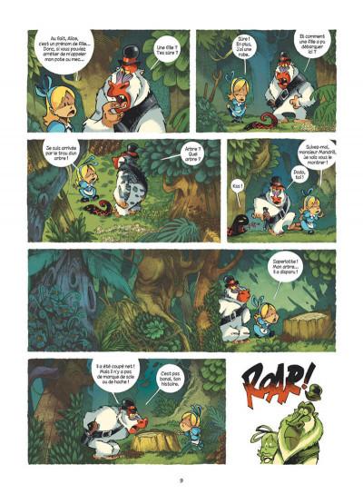 Page 9 Alice au pays des singes - intégrale