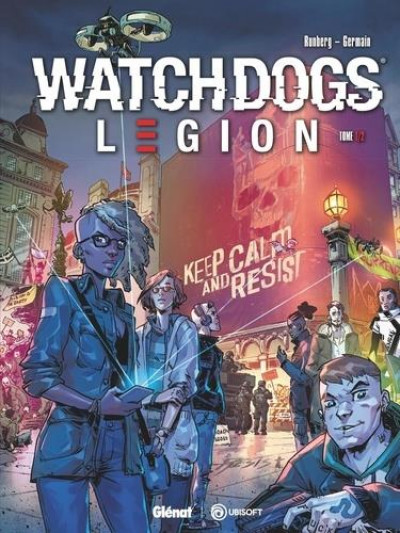 Couverture Watch dogs legion tome 1