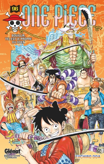 Couverture One piece tome 96