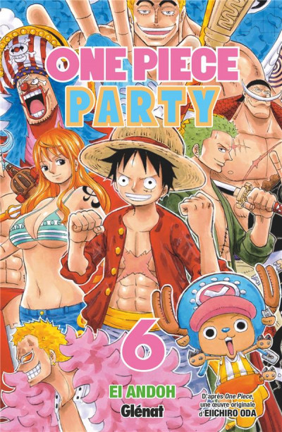 Couverture One piece party tome 6