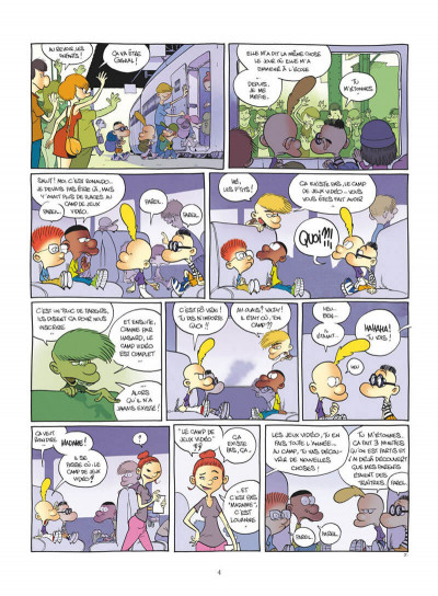 Page 4 Titeuf tome 17