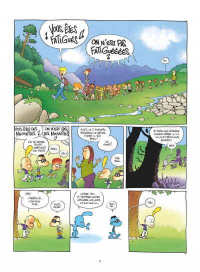 Page 8 Titeuf tome 17