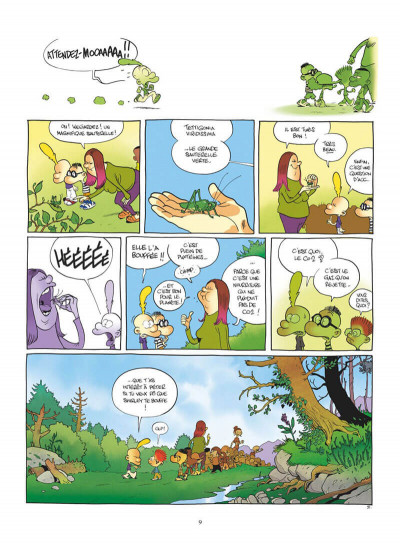 Page 9 Titeuf tome 17