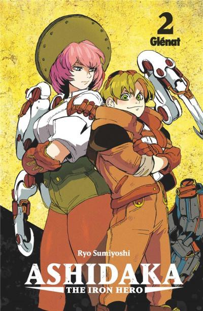 Couverture Ashidaka - the iron hero tome 2