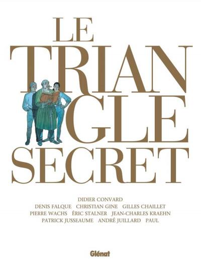 Couverture Le triangle secret - intégrale