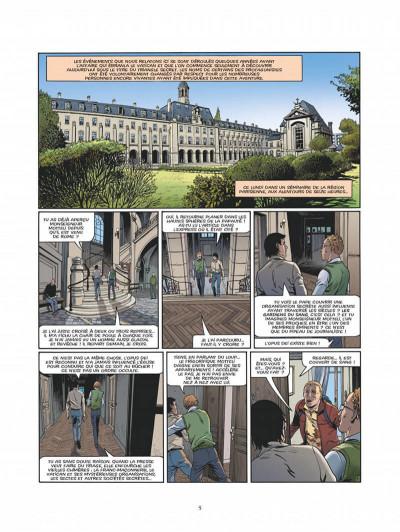 Page 2 Le triangle secret - Les gardiens du sang - intégrale