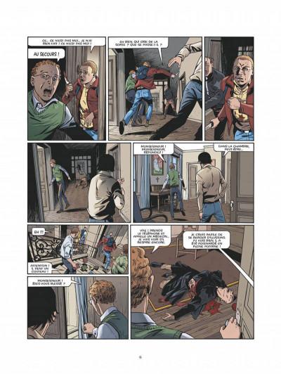 Page 3 Le triangle secret - Les gardiens du sang - intégrale