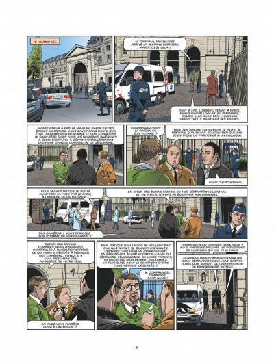Page 5 Le triangle secret - Les gardiens du sang - intégrale