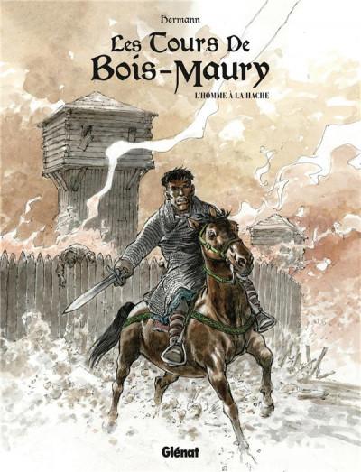 Couverture Les tours de bois-maury - l'homme à la hache (grand format)