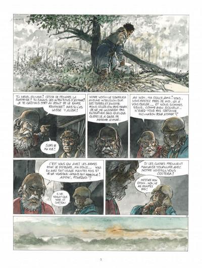Page 5 Les tours de bois-maury - l'homme à la hache (grand format)
