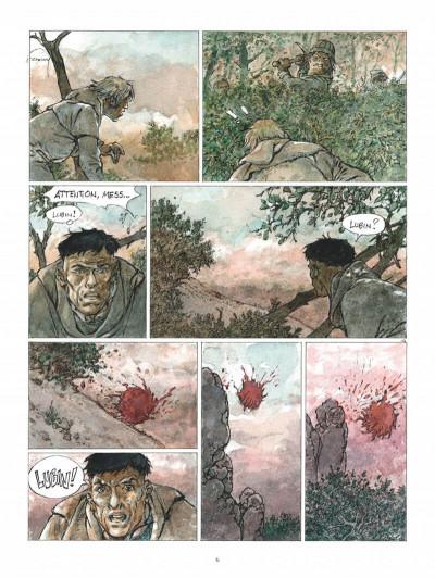 Page 6 Les tours de bois-maury - l'homme à la hache (grand format)