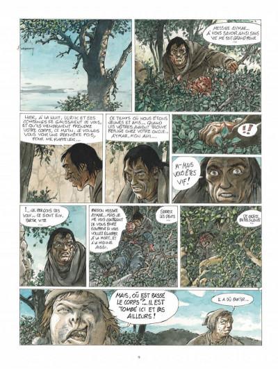 Page 9 Les tours de bois-maury - l'homme à la hache (grand format)