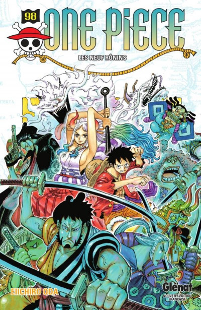 Couverture One Piece tome 98